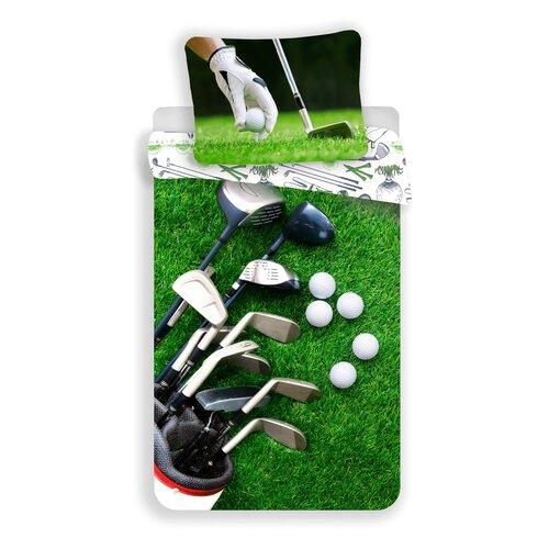 Bavlnené obliečky Golf, 140 x 200 cm, 70 x 90 cm