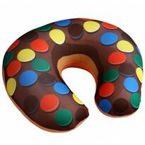 Poduszka rogal Donut draże, 30 x 30 cm