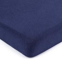 Cearșaf de pat 4Home jersey albastru închis