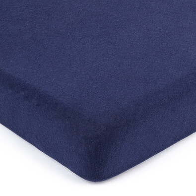 4Home jersey prześcieradło ciemnoniebieski, 180 x 200 cm
