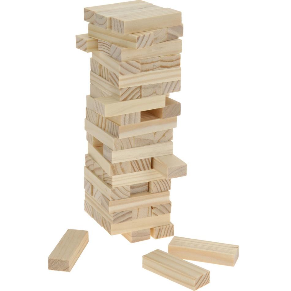 Dřevěná věž, 54 dílků