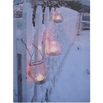 Shining Lantern LED kép vásznon, 40 x 30 cm