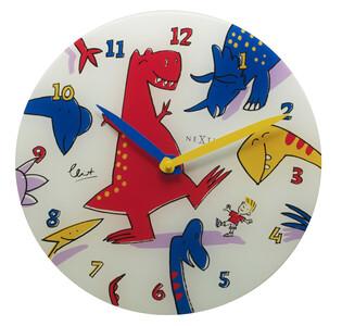 Nextime Dino Dance 8813 nástěnné hodiny