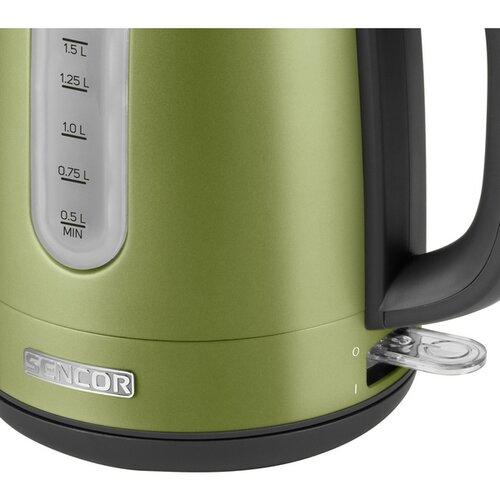Sencor SWK 1770GG rychlovarná konvice, zelená