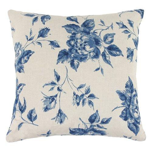 Bellatex Vankúšik Ivo ruže modrá, 45 x 45 cm