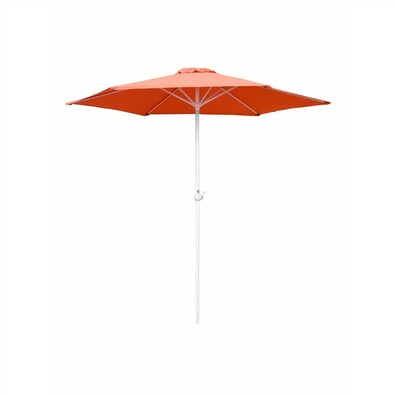 Slunečník s kličkou 230 cm, oranžová