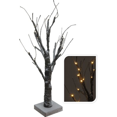 Zasněžený strom 24 LED