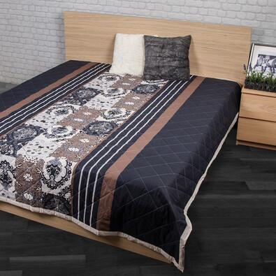 Narzuta na łóżko Paolina szary, 160 x 220 cm