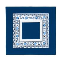 Podkładka ze wzorem cebulowym niebieski, 40 x 40 cm