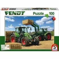 Schmidt Puzzle Traktory Fendt 724 Vario a Fendt 716 Vario, 100 dielikov