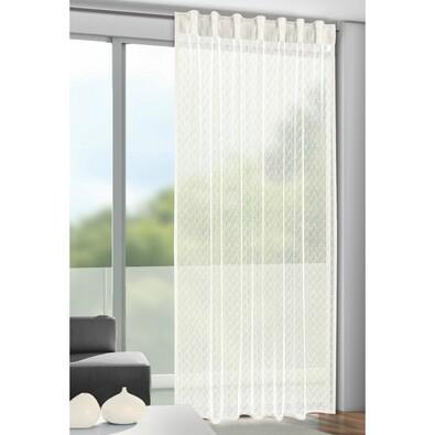 Záclona s poutky Calli béžová, 140 x 245 cm