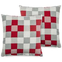 4Home Poszewka na poduszkę Checker, 2x 40 x 40 cm