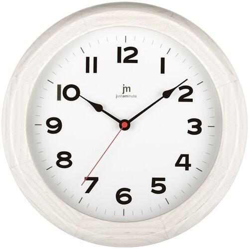 Lowell 21034B Dizajnové nástenné hodiny pr. 30 cm