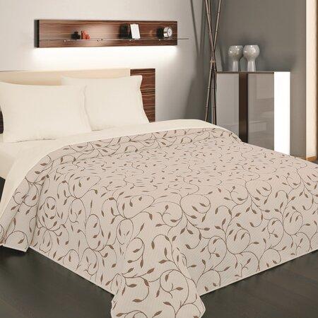 Indiana ágytakaró barna,140 x 220 cm