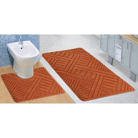 Sada koupelnových předložek Standard Linie terra, 80 x 50 cm, 50 x 40 cm