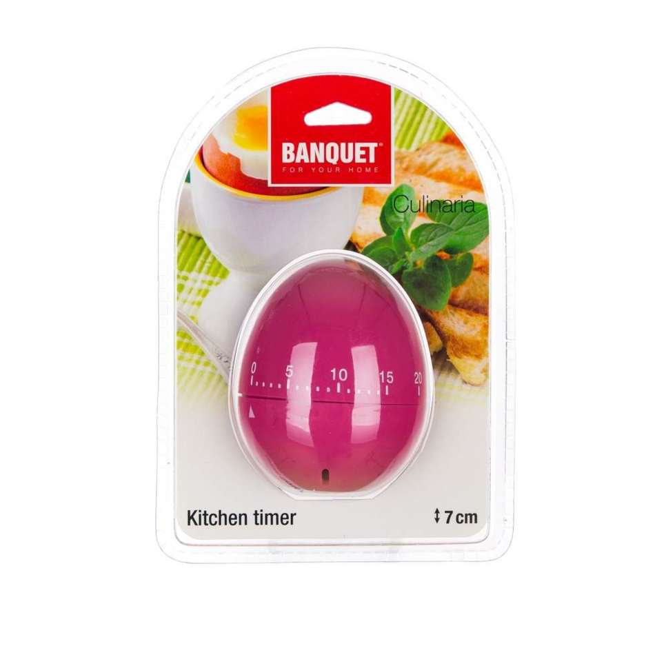 Banquet Minútka kuchynská Culinaria Vajíčko, růžová