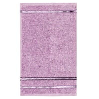 Ručník Nicola fialová, 30 x 50 cm