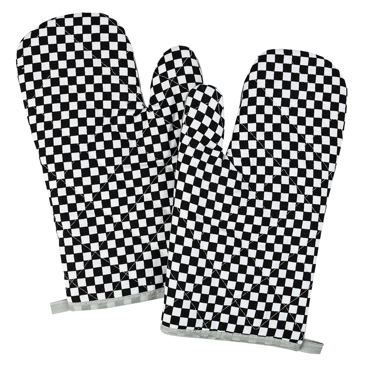 Jahu Chňapka Kostka černobílá, 28 x 18 cm, sada 2 ks