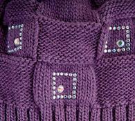 Dámská čepice Karpet 5101, sv. fialová