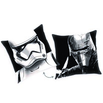 Star Wars Sisakok párna, 40 x 40 cm