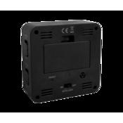 Digitálny budík Lavvu Black Cube LAR0011, 9 cm