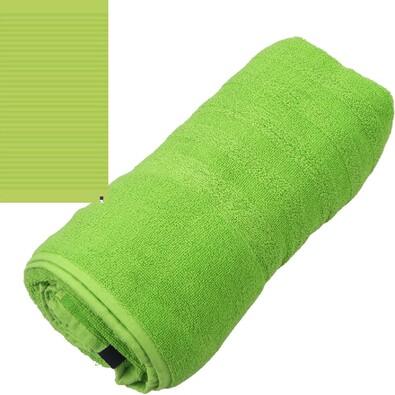 Plážová osuška Graphic 3638 zelená, 90 x 170 cm