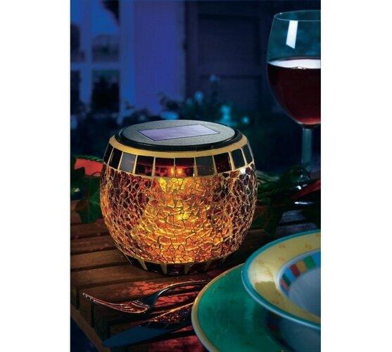 Esotec Brilliant mozaikowa lampa solarna LED