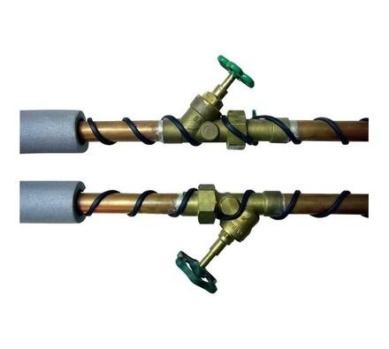 Topný kabel s termostatem 15W/m, 18 m