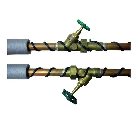Topný kabel s termostatem 15W/m, 8 m