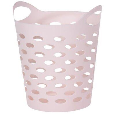Koopman műanyag doboz apró holmikhoz, világosrózsaszín,13,5 cm