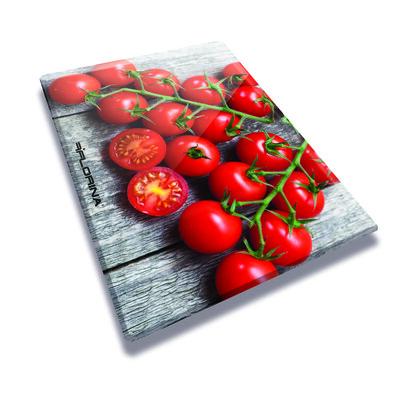 Florina Skleněná krájecí deska Rajčata 20 x 30 cm
