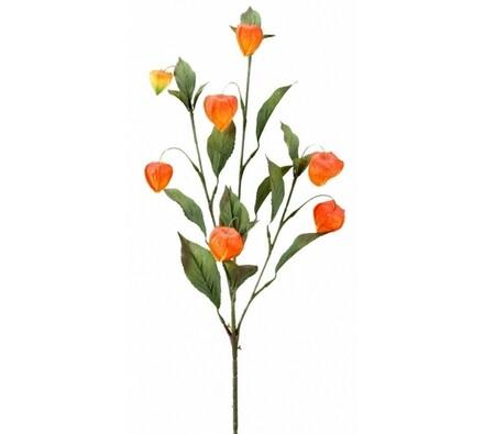 Umělá květina větvička physalis