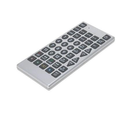 Dálkové ovládání, univerzální, šedá, 28 x 12,5 cm