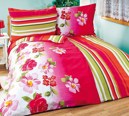 Bavlněné povlečení Růžové snění, 240 x 220 cm, 2 ks 70 x 90 cm
