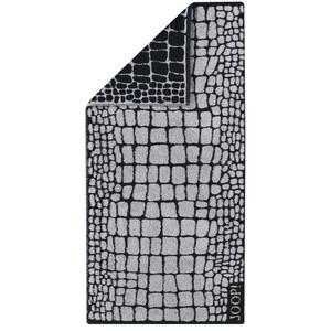 JOOP! Osuška Gala Croco Graphit, 80 x 200 cm