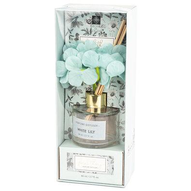 Difuzor de arome Natural home White lily, 80 ml