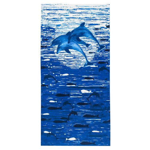 4Home Plážová osuška Delfíni, 75 x 150 cm