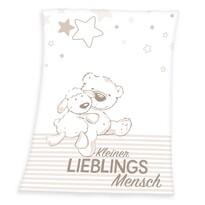 Dětská deka Fynn Lieblings, 75 x 100 cm
