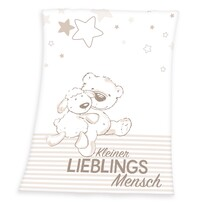Pătură de copii Fynn Lieblings, 75 x 100 cm