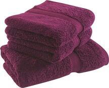 Ręcznik Onyron bordowy, 50 x 100 cm