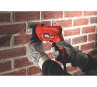 Elektrická příklepová vrtačka Black & Decker KR504CRE 500W