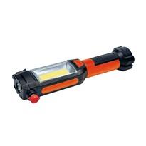Solight WL112 Multifunkční LED světlo 3 W COB +  1 W LED, oranžová