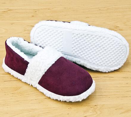 Pantofle beránek, červená, 41 - 43