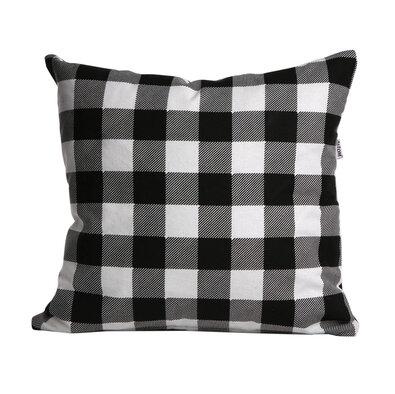 """Love in Checkered"" párnahuzat, 40 x 40 cm"