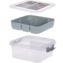 Storage Solutions Organizator plastic, 26 x 24 x 11 cm