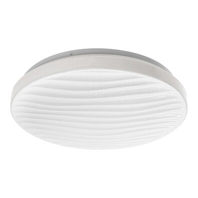 Rabalux 2675 Milena Stropné LED svietidlo biela, pr. 39 cm