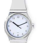 Nástěnné hodiny tvar hodinek  bílé