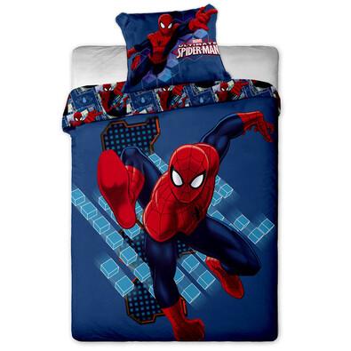 Dětské povlečení Spiderman micro, 140 x 200 cm, 70 x 90 cm