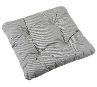 Sedák Adéla, šedý proužek, 40 x 40 cm, sada 2 ks