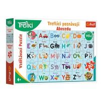 Trefl Puzzle Treflíci poznávají abecedu, 30 dílků